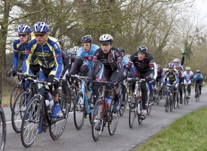 aIMG_9774 Race faces on for third time up Gooms Hill